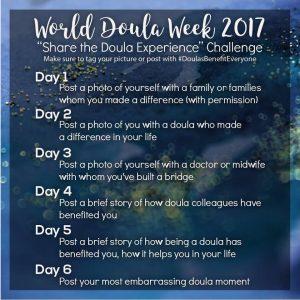 Doula Week 2017 challenge