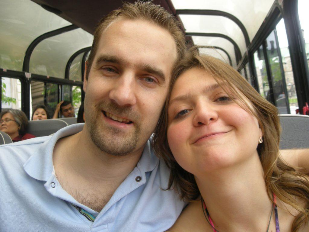 Dan and Katerina Morin in 2009